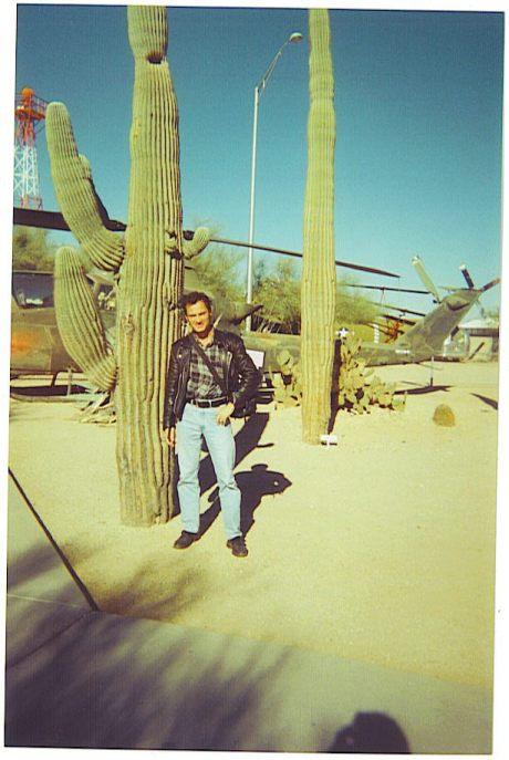 Κάκτοι saguaros στα περίχωρα της Tucson