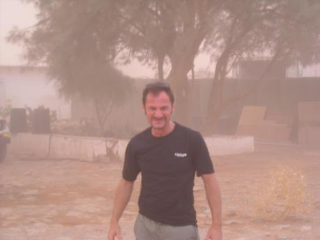 16 Ιουνίου, γύρω στις 19:00, η πρώτη μου αμμοθύελλα (ακολούθησε καταιγίδα)