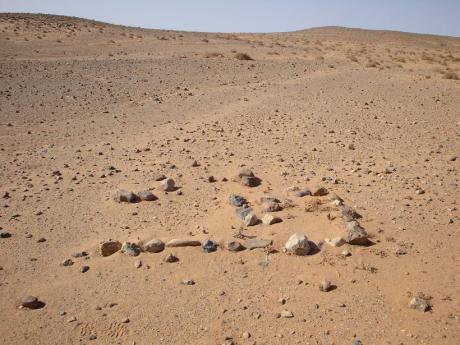 Τάφος, ίσως, από την εποχή των εχθροπραξιών, ίσως...