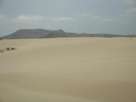Η μίνι έρημος στο Corralejo του Fuerteventura