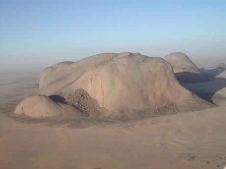 Το Βουνό του Διαβόλου, στο Lajouad, περιοχή ευθύνης τού Agwanit